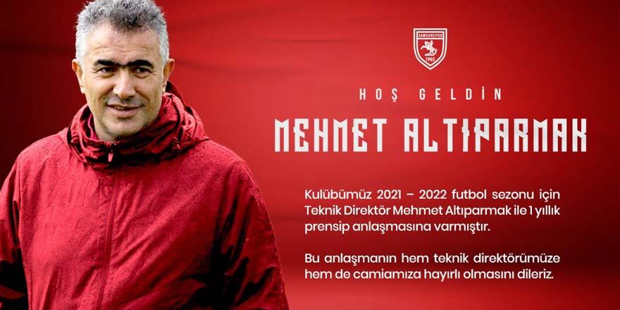 Mehmet Altıparmak Samsunspor'da