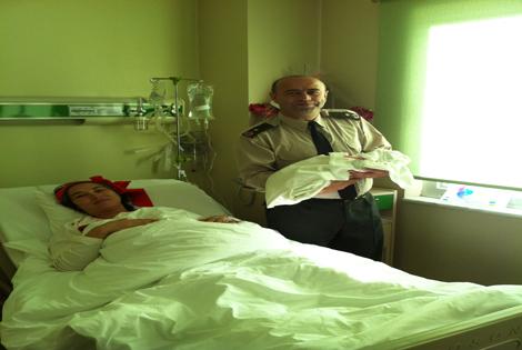 Garnizon Komutanı Serdal Şahin'in Mutlu Günü