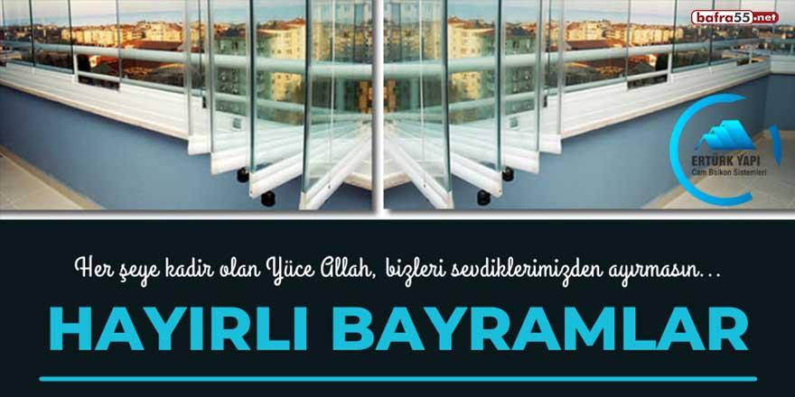 Ertürk Yapı Cam Balkon'un Kurban Bayramı tebriği