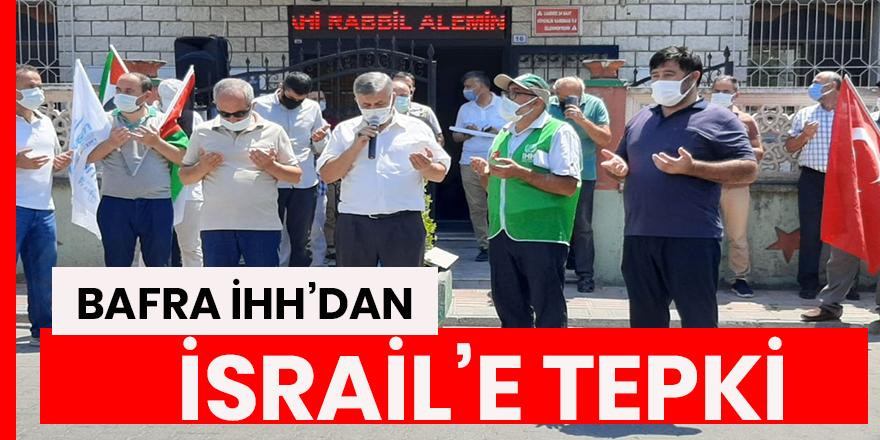 "Bafra İHH'dan İsrail'e tepki! ""Kudüs, Mescid-i Aksa bizim kırmızı çizgimizdir"""