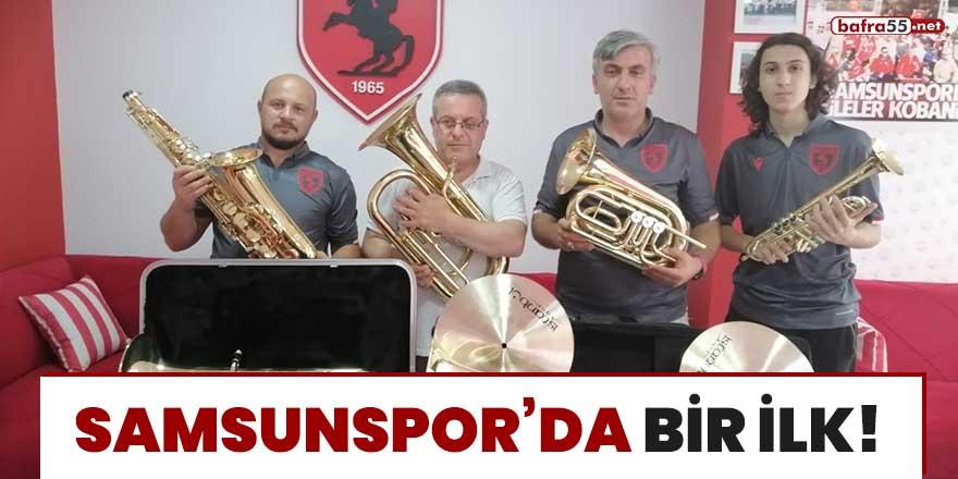 Samsunspor'da bir ilk!