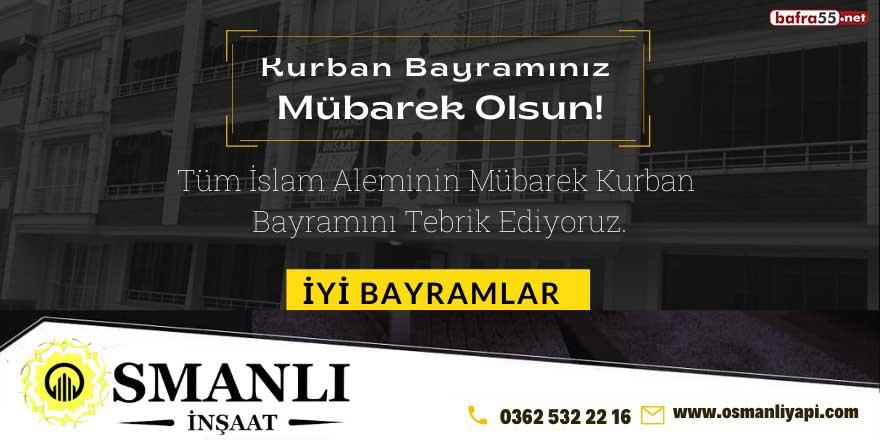Osmanlı İnşaat'tan Kurban Bayramı mesajı