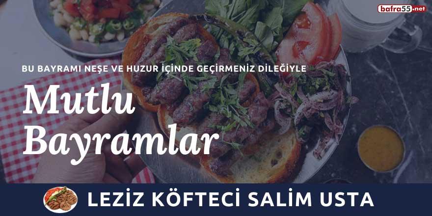 Leziz Köfteci Salim Usta'dan Kurban Bayramı kutlaması