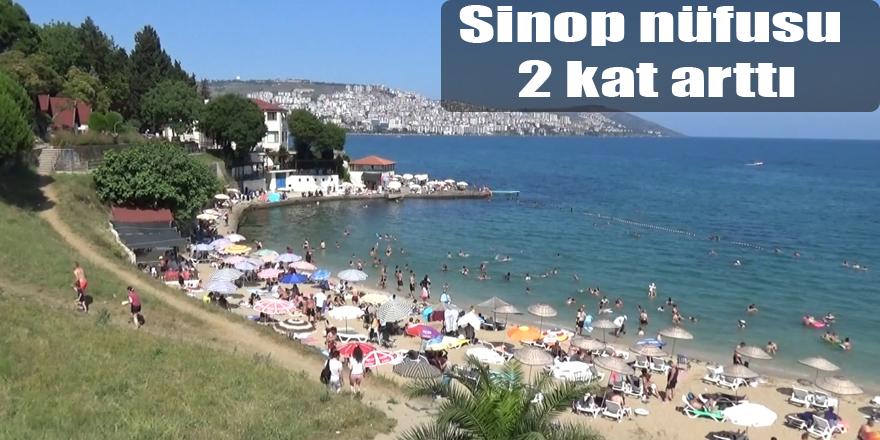 Sinop nüfusu 2 kat arttı