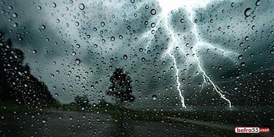 Ordu için şiddetli yağış uyarısı