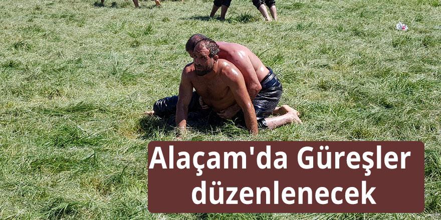 Alaçam'da Güreşler düzenlenecek