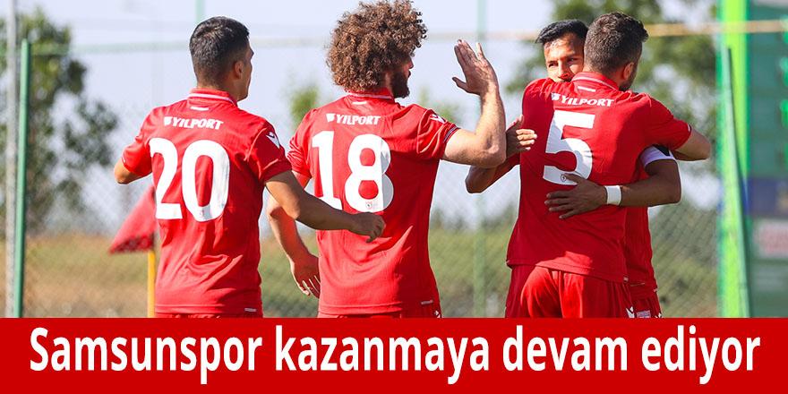 Samsunspor kazanmaya devam ediyor
