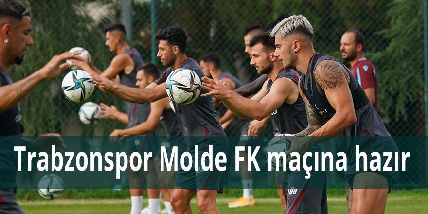 Trabobzonspor Molde FK maçına hazır