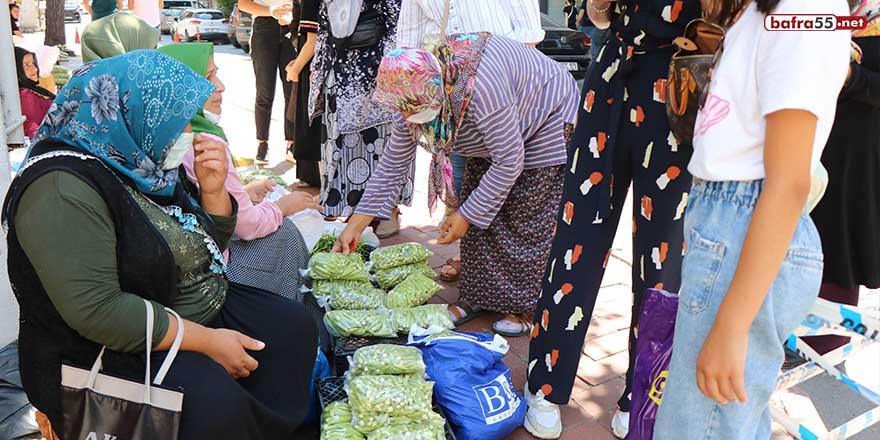 Samsun'da bamyanın kilosu 30 lira