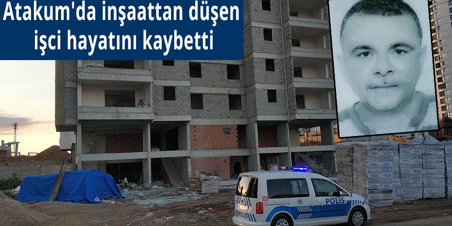 Atakum'da inşaattan düşen işci hayatını kaybetti