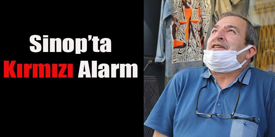 Sinop'ta kırmızı alarm