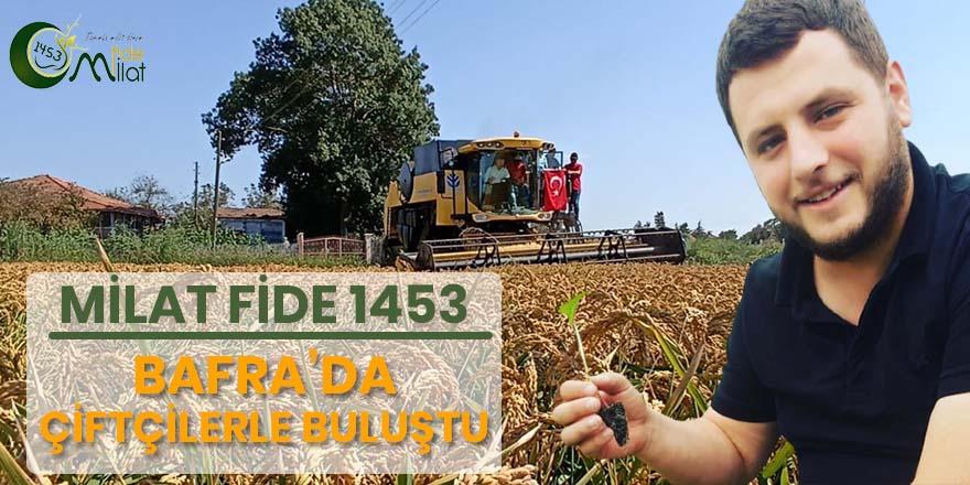 Milat Fide 1453 tarafından çiftçilere tarla günü progamı düzenlendi