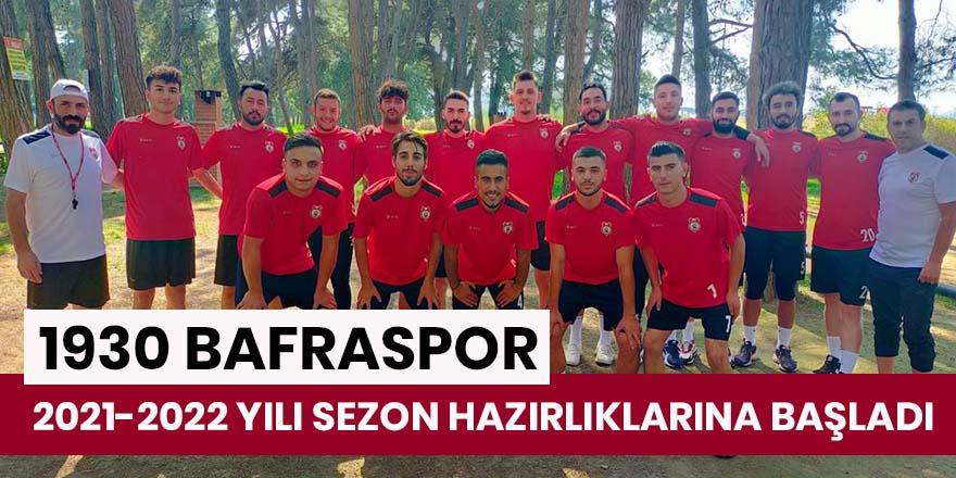 1930 Bafraspor Top Başı Yaptı