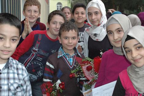 2012-2013 Eğitim Öğretim Yılı Yarı Yıl Karne Sevinci