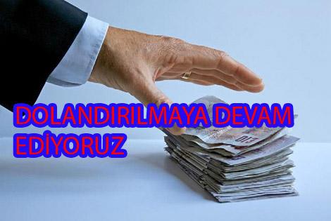 Samsun'da bir kişi telefonla 13 bin euro dolandırıldı.