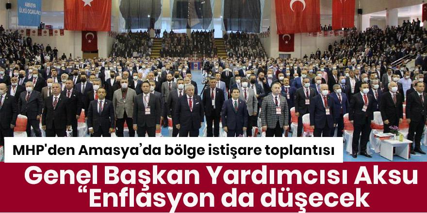 MHP'den Amasya'da bölge istişare toplantısı