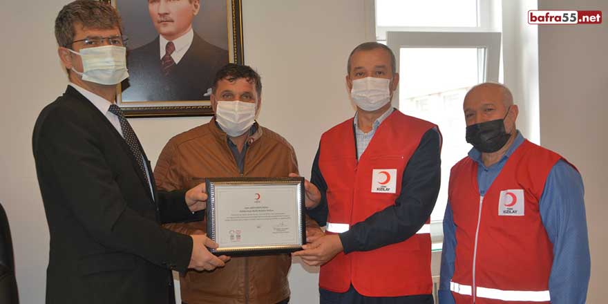19 Mayıs ilçesinde beklentinin üzerinde kan bağışı yapıldı