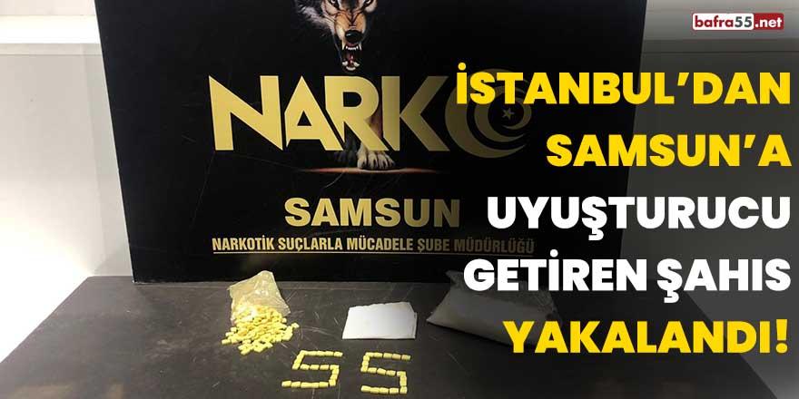 İstanbul'dan Samsun'a uyuşturucu getiren şahıs yakalandı