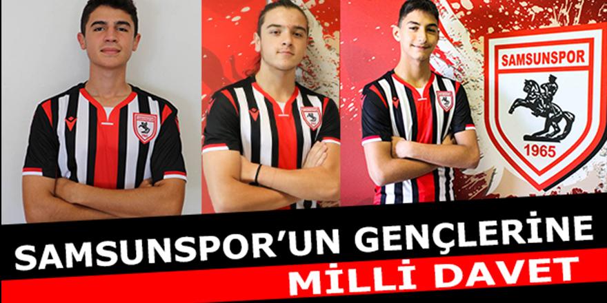 Samsunspor'un gençlerine milli davet