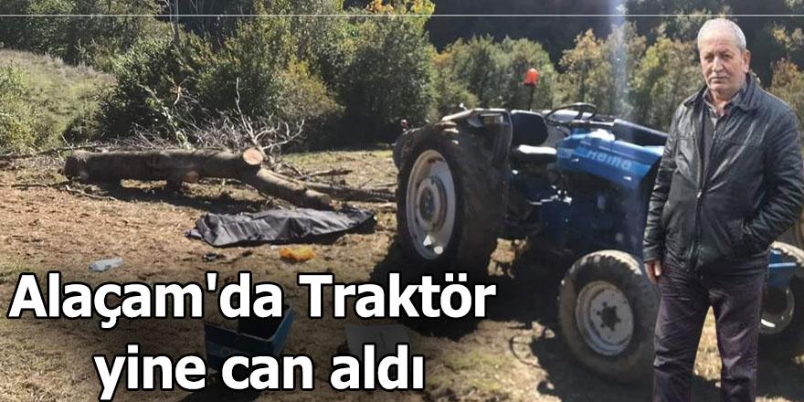 Alaçam'da Traktör yine can aldı