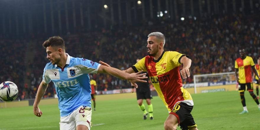 Trabzonspor İzmir'den lider dönüyor