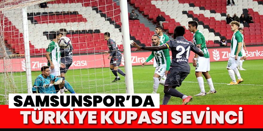 Ziraat Türkiye Kupası 3. Tur: Samsunspor: 2 - 1922 Konyaspor: 1