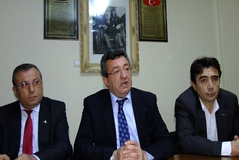 CHP Sinop Milletvekili Altay'dan Bafra İlçe  Başkanlığına Ziyaret