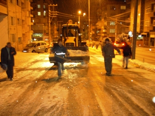 Bafra Belediyesi Kışa hazır