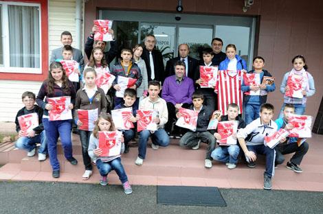 Göçkün İlköğretim Okul Öğrencilerin'den Samsunspor'a Ziyaret