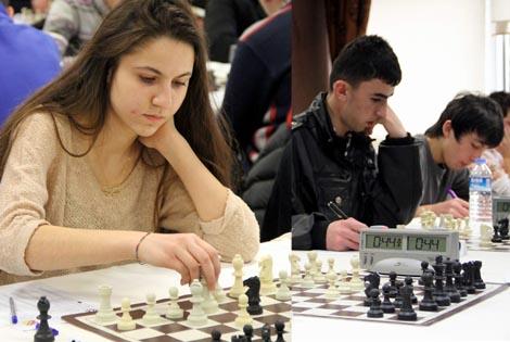Satranç'da Bafra Fen Lisesi ikinci Oldu