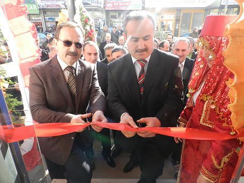 Bafra tarım market açıldı