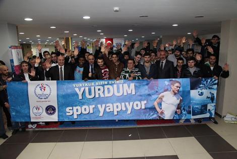 YURDUM SPOR YAPIYOR' ETKİNLİĞİ