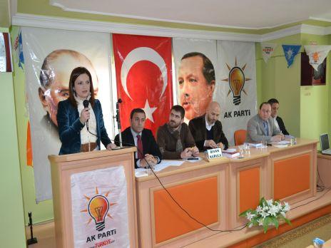 Ak Parti Alaçam İlçe Danışma Toplantısı Yapıldı.