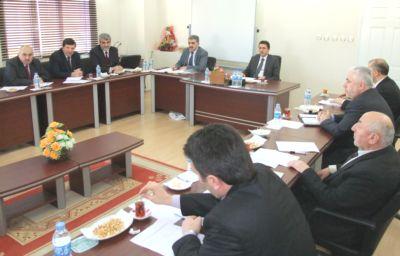 İlçe Müftüleri Toplantısı Bafrada Yapıldı