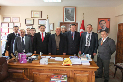 MHP'DEN GENÇ ÇAKIR'A ZİYARET