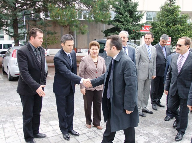 BAFRA OSB TOPLANTISI VALİ AKSOY BAŞKANLIĞINDA YAPILDI
