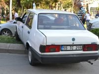 Aracının Kontrolünü kaybeden sürücü korku saçtı