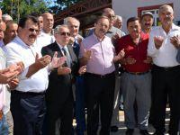 BAŞKAN ŞAHİN KARABURÇ MAHALLESİ'NDE TEMEL ATMA TÖRENİNE KATILDI