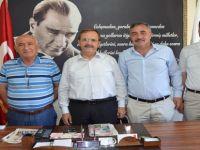 ESNAF ODALARIMIZDAN BAŞKAN ŞAHİN'E ZİYARET