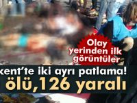 Ankara,da korkunç patlama