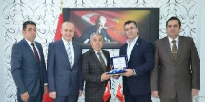 Samsun Kızılay'dan Kaymakam Halis ARSLAN' A Teşekkür Ziyareti