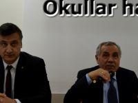 Kaymakam Halis Arslan Okul Müdürleri İle Toplantı Yaptı