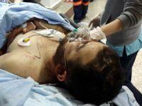 Çarşamba'da bıçaklı saldırıya uğrayan bir kişi ağır yaralandı.
