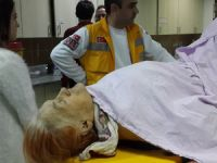 Samsun`da patpat kazası 1 ölü 1 yaralı