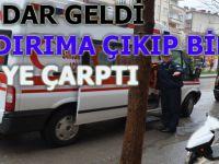 Bafra`da kaza 1 kişi yaralandı