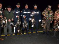 Bafralı kaçak avcılar kıskıvrak yakalandı
