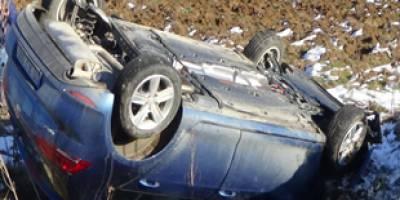 Fren yerine kaza basınca olan oldu