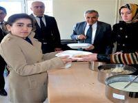 Bafra'da Özel Eğitim Mesleki Eğitim Merkezi Öğrencileri Okullarına Kavuştular
