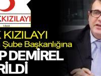 Kızılay Samsun Şube Başkanlığına Habib Demirel getirildi