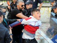 Samsun'da gergin 1 Mayıs